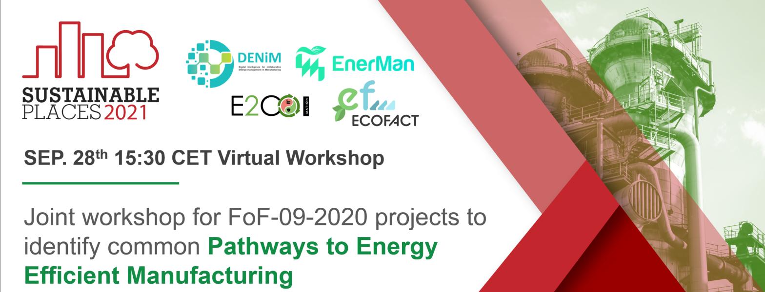 DENiM Workshop at Sustainable Places 2021